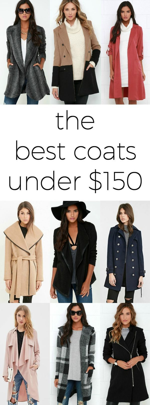 The BEST winter coats for women under $150! | by @ashleynicholas at ashleybrookenicholas.com