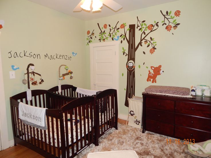 The Twins 39 Baby Room Babies Pinterest Trees Twin