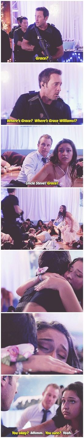 Uncle Steve loves his Grace (and Danno, too)