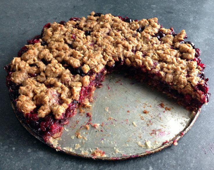 Bashaland: Vločkový koláč