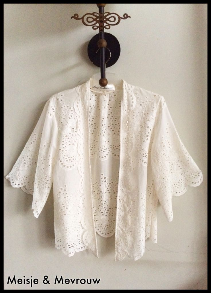 Kebaya cardigan Cotton embroidery