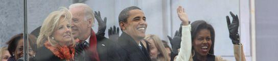 Barack y Michelle Obama; Joseph y Jill Biden