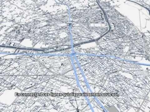 MVRDV vision for Grand Paris: Pari(s) Plus Petit    (animation by Wielan...