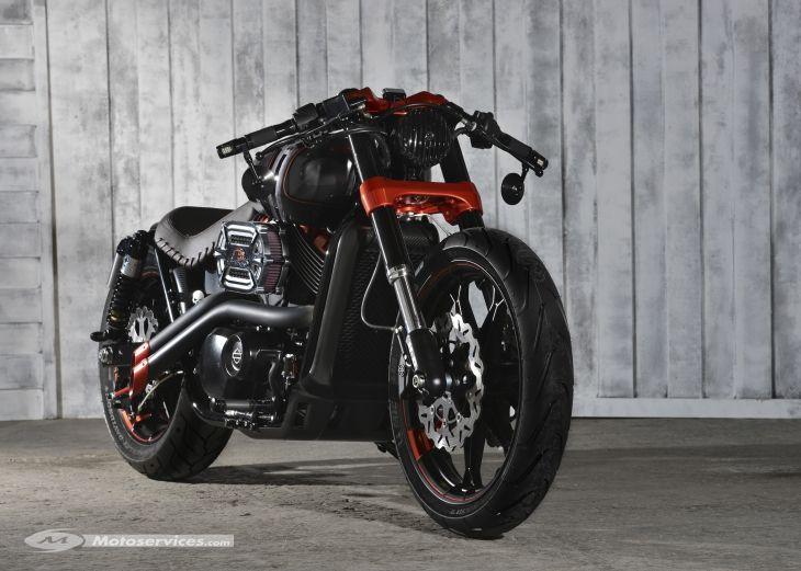 Harley-Davidson Street 750 custom