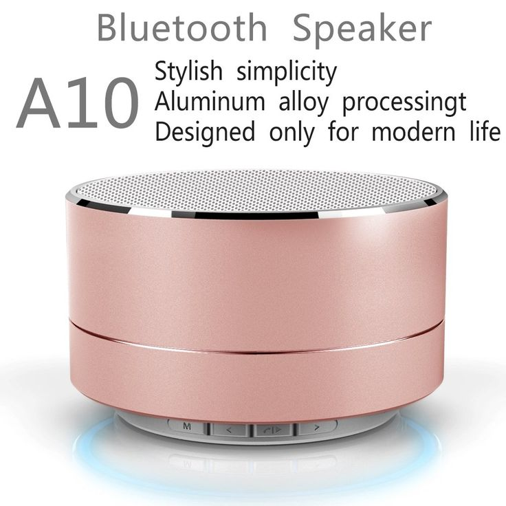WANHUA Bluetooth Speaker (High Definition Audio,Louder Volume,Strong Bass,Passive Subwoofer,Superior Sound,Universal) Portable Wireless Speaker for iPhone, iPad, Computer, Samsung and More (Rose Gold). BEST VALUE FOR YOUR MONEY: Thanks to its robust construction - this amazing portable bluetooth speaker delivers the best value for your money. With its premium stainless steel casing, you can rest assured that it's made to last!. UNPARALLELED QUALITY: Your satisfaction means everything to…