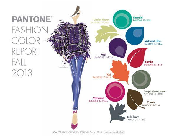 color pallettes for summer 2013 | Top colors dominating fashion for fall/winter 2013