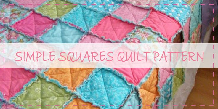 1000+ images about rag quilting on Pinterest Quilt, Baby rag quilts and Squares