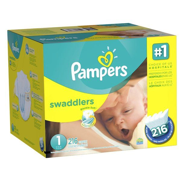 Amazon: Pampers Swaddlers Size 1 Diapers Only $0.09 Each Shipped!