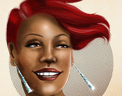 """Check out new work on my @Behance portfolio: """"Pixie"""" http://on.be.net/1Kp05B8"""