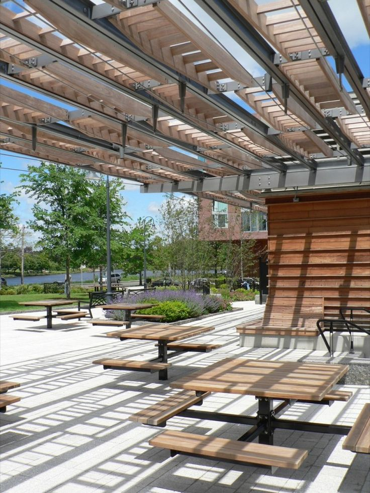 Riverside Park Pavilion Touloukian Inc