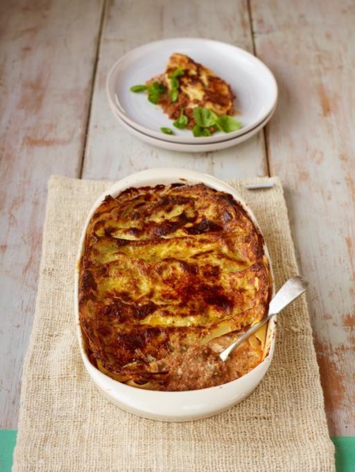 Good Old Lasagne   Pork Recipes   Jamie Oliver Recipes