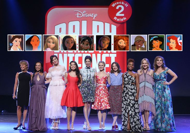 On Friday, the voices behind ten of Disney's biggest princesses came together for one magical photo op at Disney's D23 EXPO in Anaheim, California