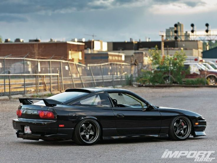 1992 Nissan 240SX JDM 180SX Side Skirts And Rear Lip