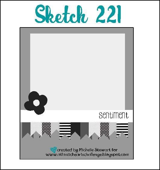 A weekly sketch challenge blog hosted by Atlantic Canadian Michelle Stewart.  Sketch #221