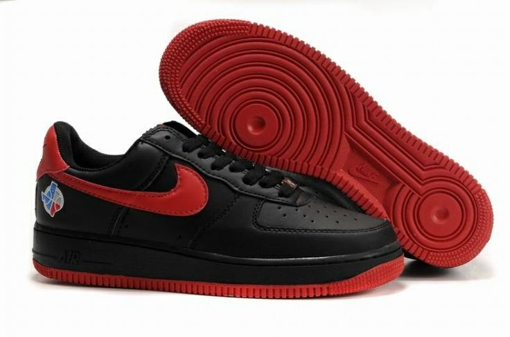Nike Unisex's Basketball Shoes Air Force 1 Low (Barkley) Varsity Red / Varsity Red - Black