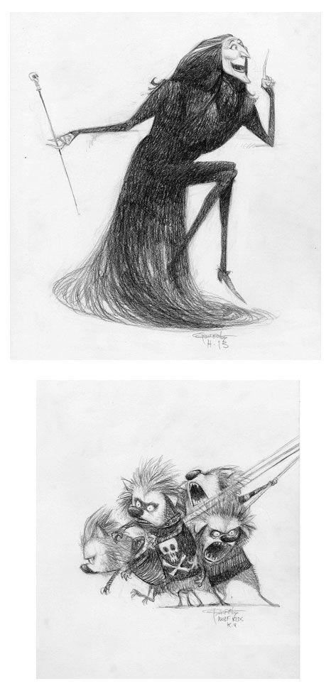 http://theconceptartblog.com/2012/10/24/desenhos-de-carter-goodrich-para-hotel-transylvania/
