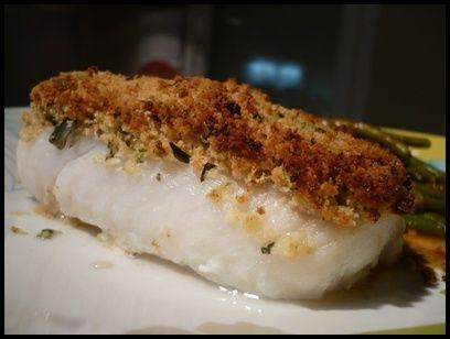 Filet de loup de mer en croûte d'herbes, Aujourd'hui une recette hyper facile et rapide à réaliser mais qui a de l'allure et saura métamorpho les meilleures recettes de cuisine d'Internet sur speedrecette