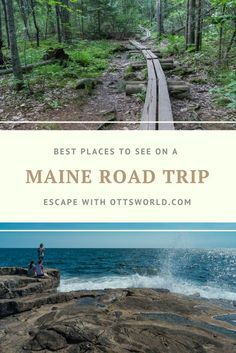 Best Places to See on a Maine Road Trip via @Ottsworld