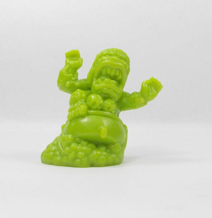 Monster In My Pocket - Series 1 - 18 Baba Yaga - Olive Green - Mini Figure