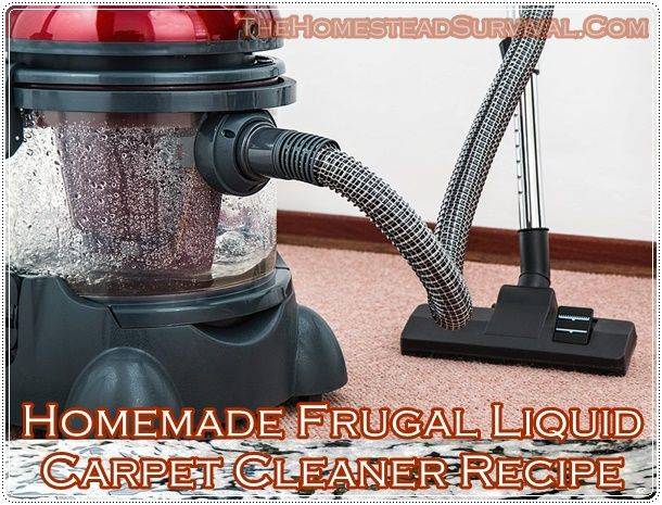 Homemade Frugal Liquid Carpet Cleaner Recipe Homesteading  - The Homestead Survival .Com