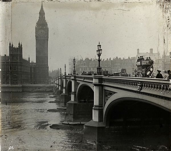 Westminster bridge c 1910 the bridges of old london for Design agency london bridge