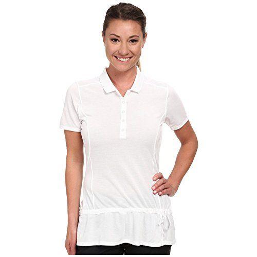 (アディダス ゴルフ) adidas Golf レディース トップス 半袖シャツ Climalite Advance Pique Short Sleeve Polo '15 並行輸入品  新品【取り寄せ商品のため、お届けまでに2週間前後かかります。】 表示サイズ表はすべて【参考サイズ】です。ご不明点はお問合せ下さい。 カラー:White