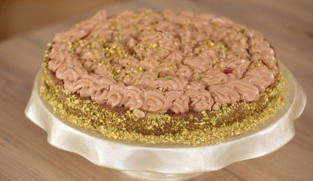 Τούρτα κανταΐφι με κρέμα σοκολάτας, από την Ντίνα Νικολάου και το minervahorio.gr!