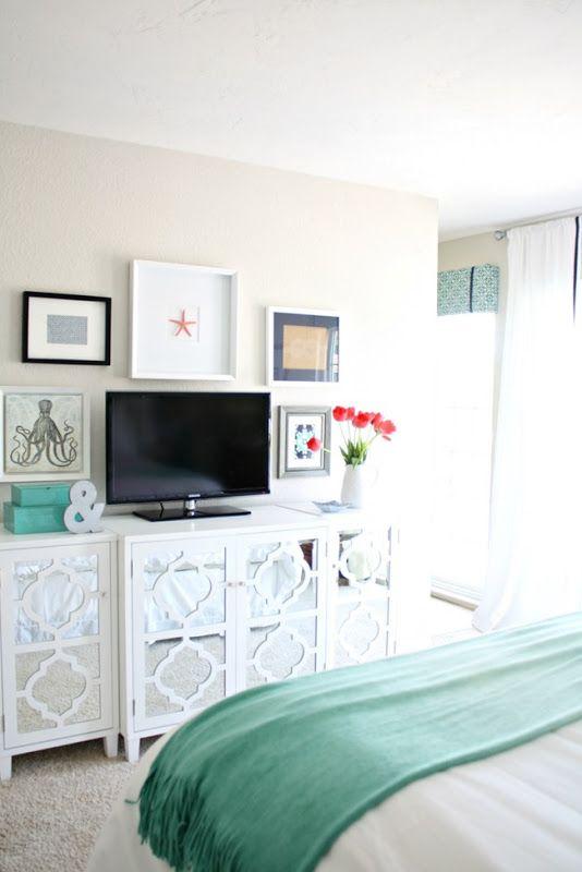 25 Best Ideas About Tv In Bedroom On Pinterest Bedroom Tv Tv On Wall And Tv On Wall Ideas Living Room