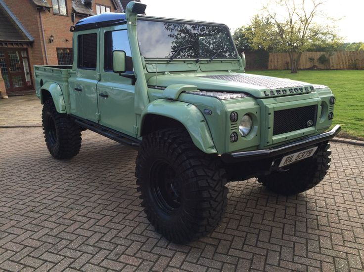 1999 Land Rover Defender 130 TD5 Double Cab | eBay