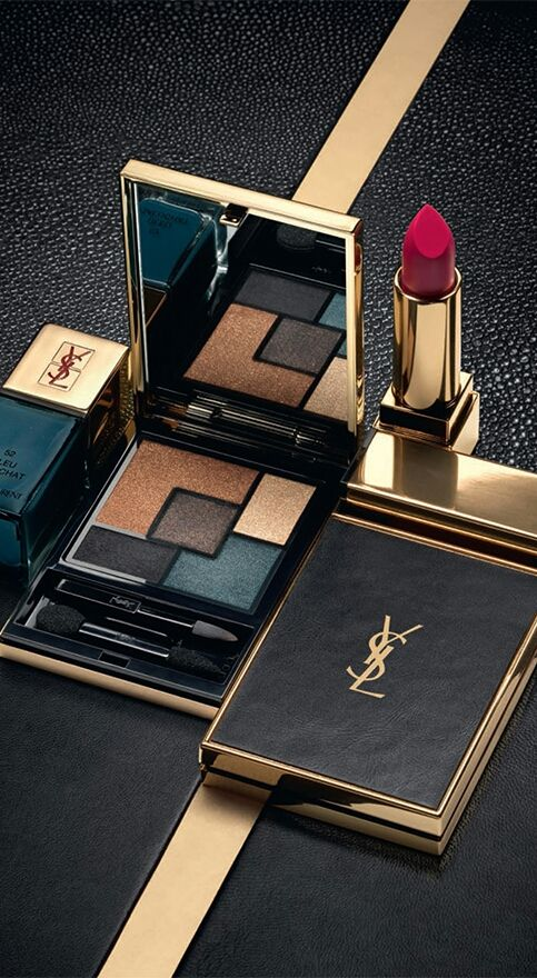 Yves Saint Laurent ~  Lip and Shadow  Colors: