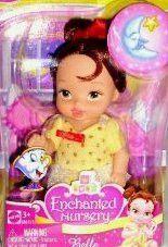 Disney Princess Belle Enchanted Nursery 4.5 Baby Doll