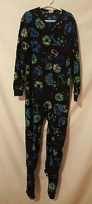 Boy Circo Sports Themed Fuzzy One Piece Footie Pajamas Size Medium 10-12   eBay, Christmas Shopping