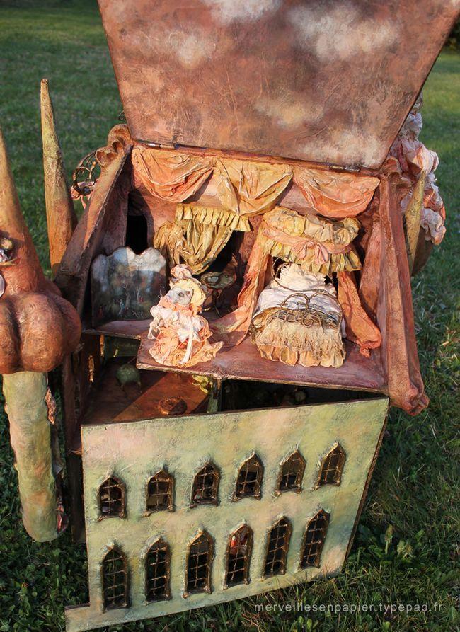 Maison-de-poupée-cendrillon-8 saved by etsy.com/shop/OnceUponaTimeCo