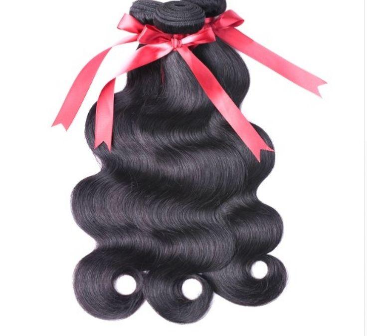 Raven Black Malaysian Soft Wave Hair Weave