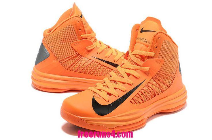 Cheap Nike Lunar Hyperdunk 2012 Vivid Orange Black 535359 400 Basketball  Shoes Sale 2013 Outlet