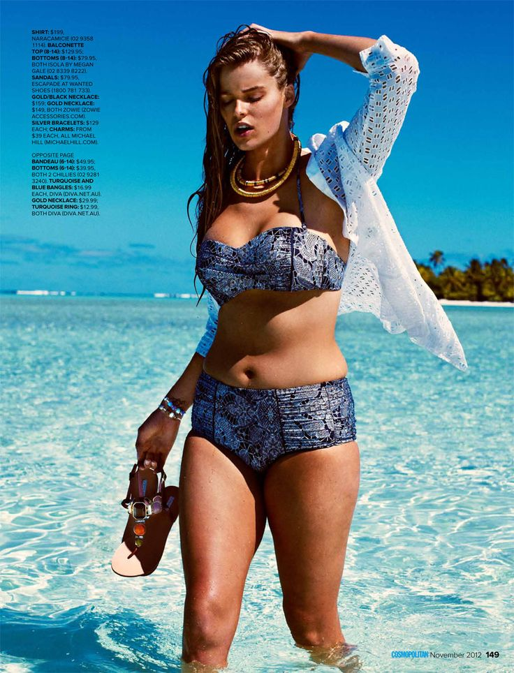 Model Robyn Lawley, Ending the 'Thigh Gap' Fascination