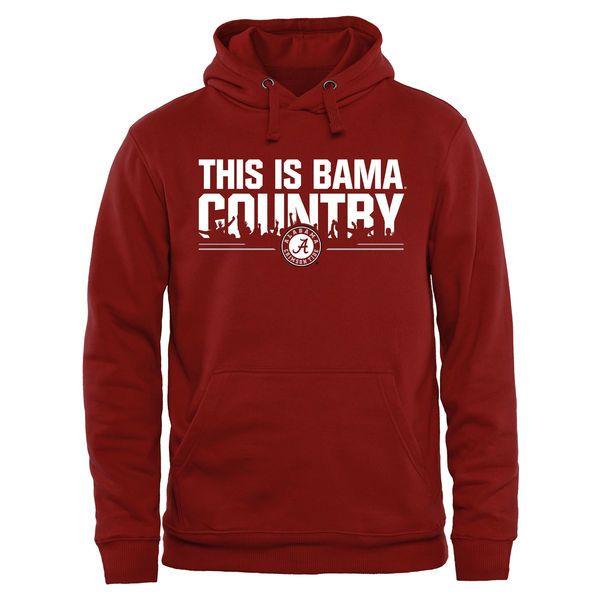 Alabama Crimson Tide Our House Pullover Hoodie - Crimson - $39.99