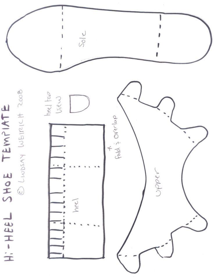 Про природу, открытки туфельки из бумаги
