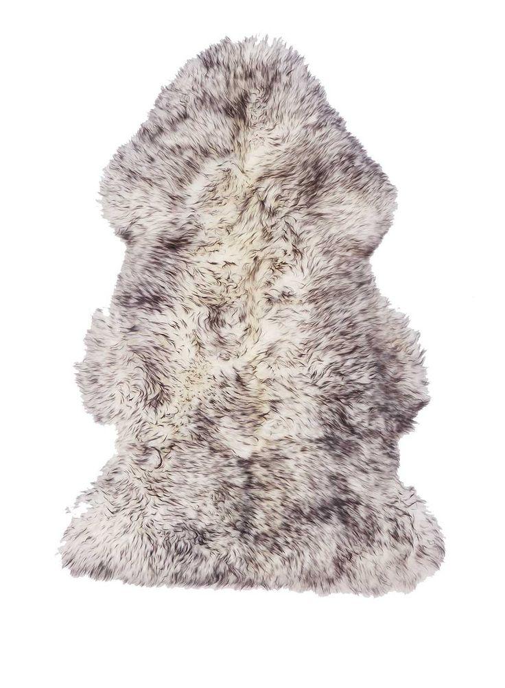 peau de mouton naturelle de haute qualite shepherd noir tapis en laine pinterest. Black Bedroom Furniture Sets. Home Design Ideas