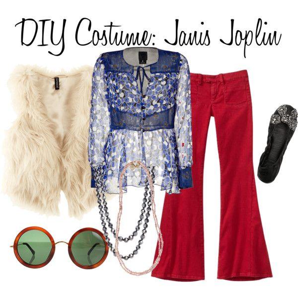 Diy Costume Janis Joplin By Msbeautymonster On Polyvore