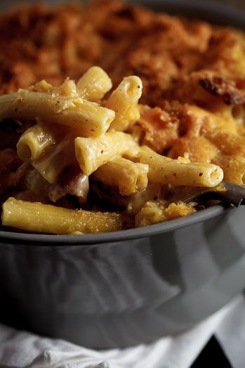 Beer & Bacon Mac and cheese