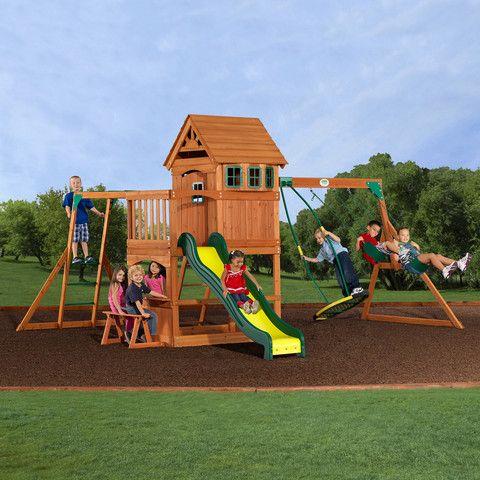 1000 Ideas About Wooden Swing Sets On Pinterest Kids