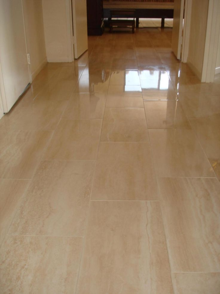 Porcelain Flooring Porcelain Tile Floor In Hallway