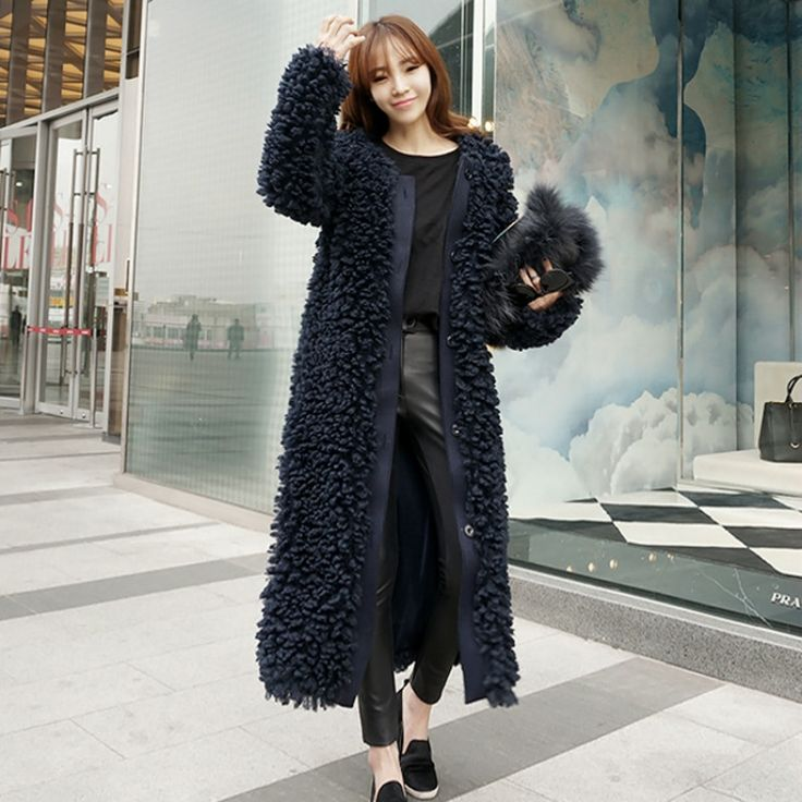 The 25  best Super long coats ideas on Pinterest