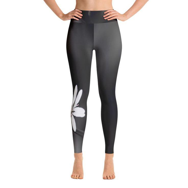 Black Stellaria II Yoga Leggings