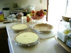 Low Cholesterol Banana Cream Pie with Oatmeal Crust:  By learning where cholesterol hides, and by eating desserts that contain little or no cholesterol, you can enjoy your treats without sacrificing your lower cholesterol diet plan. You will actually be able to go ahead and have seconds because these low cholesterol desserts are actually good for you.