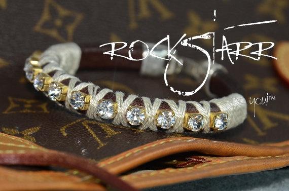 Rockstarr Leather bracelets! Love these!