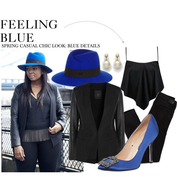 """""""FEELING BLUE"""" by willkatelady on Polyvore"""