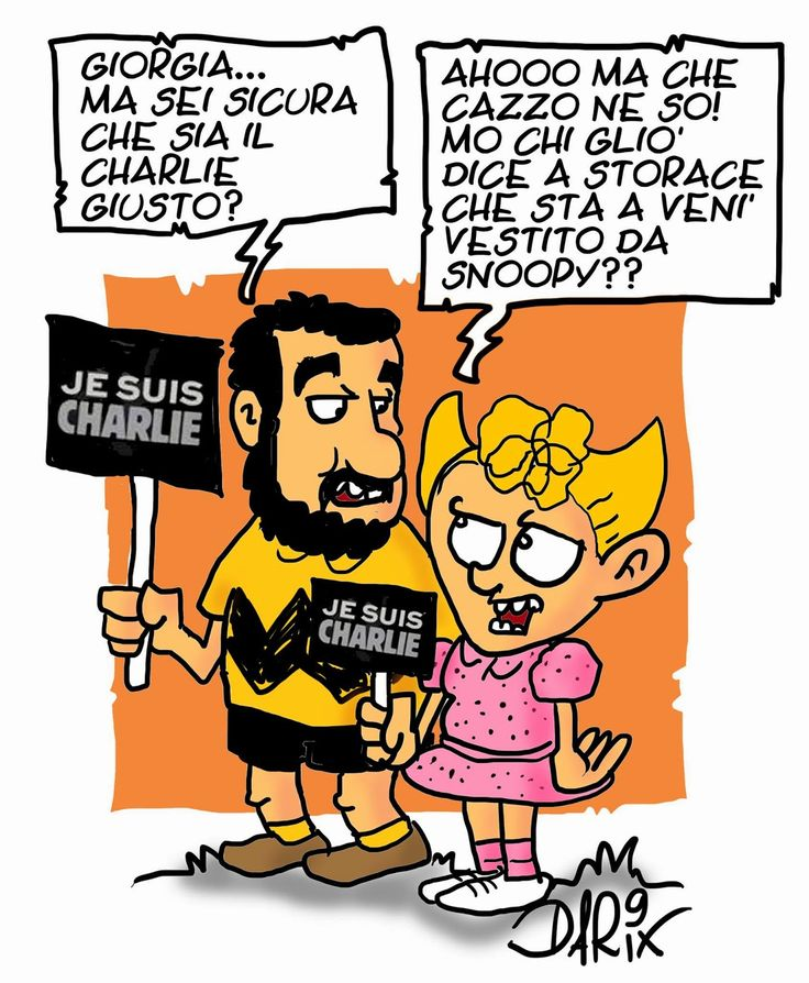 INSERTO SATIRICO: Charlie Hebdo...