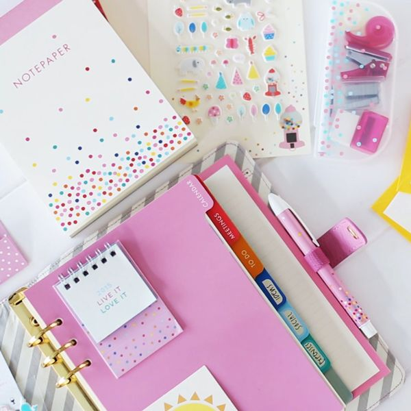 Update your stationery wardrobe with our oh-so-cute Accessories. Featuring the sweetest designs in bright and bold colours and patterns, every day is a celebration.